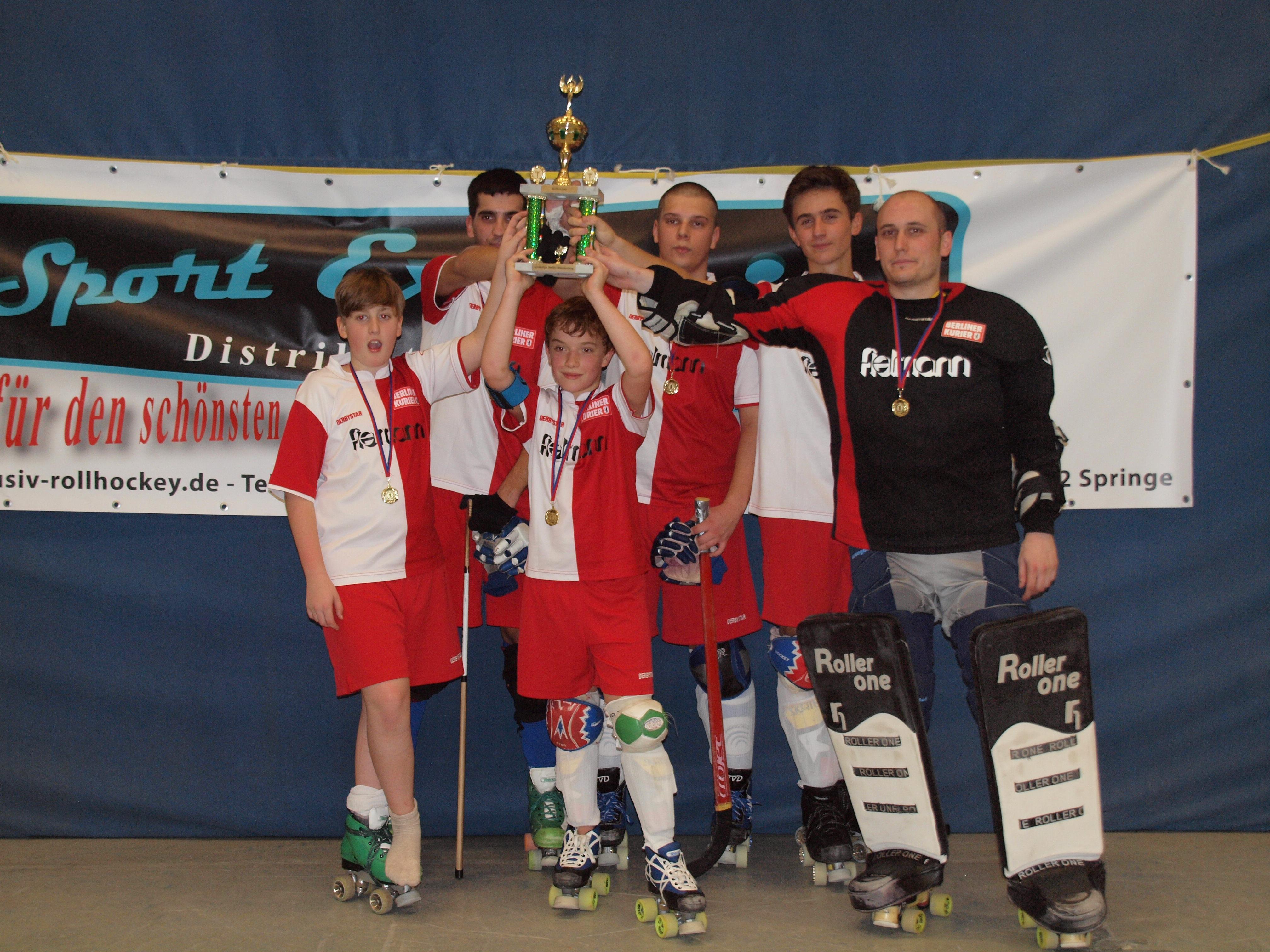 Landesliga-Mannschaft OSC Berlin 2013
